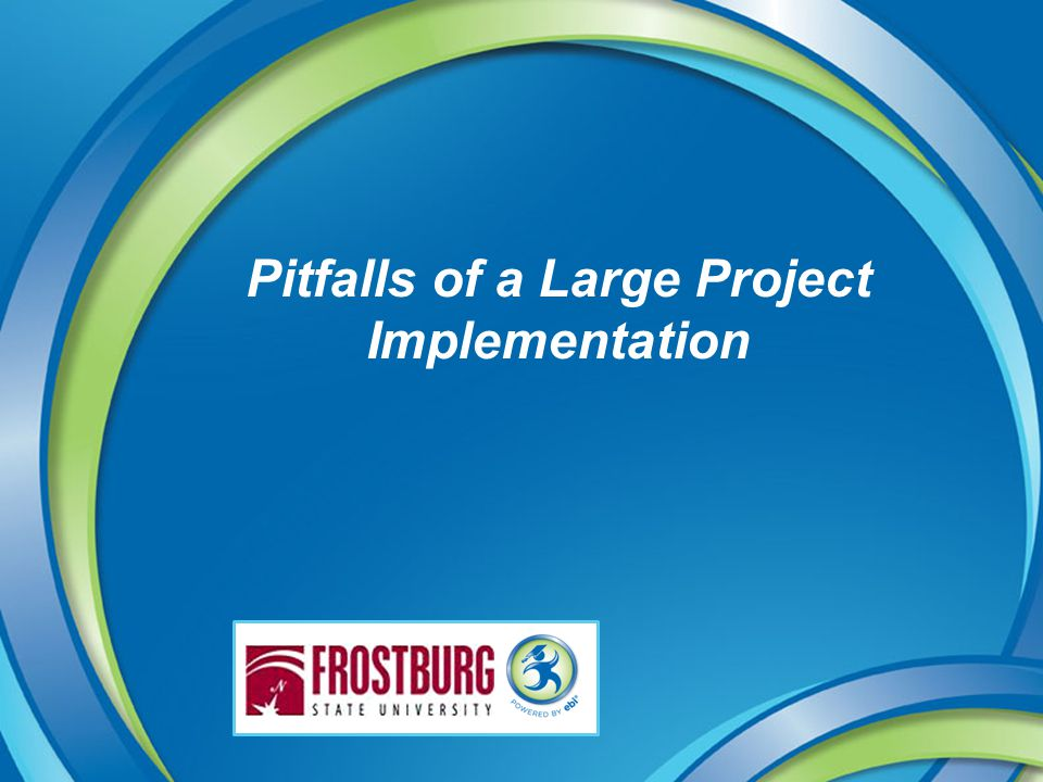 Pitfalls of a Large Project Implementation