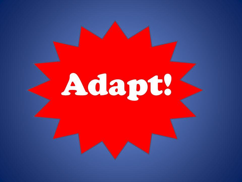 Adapt!