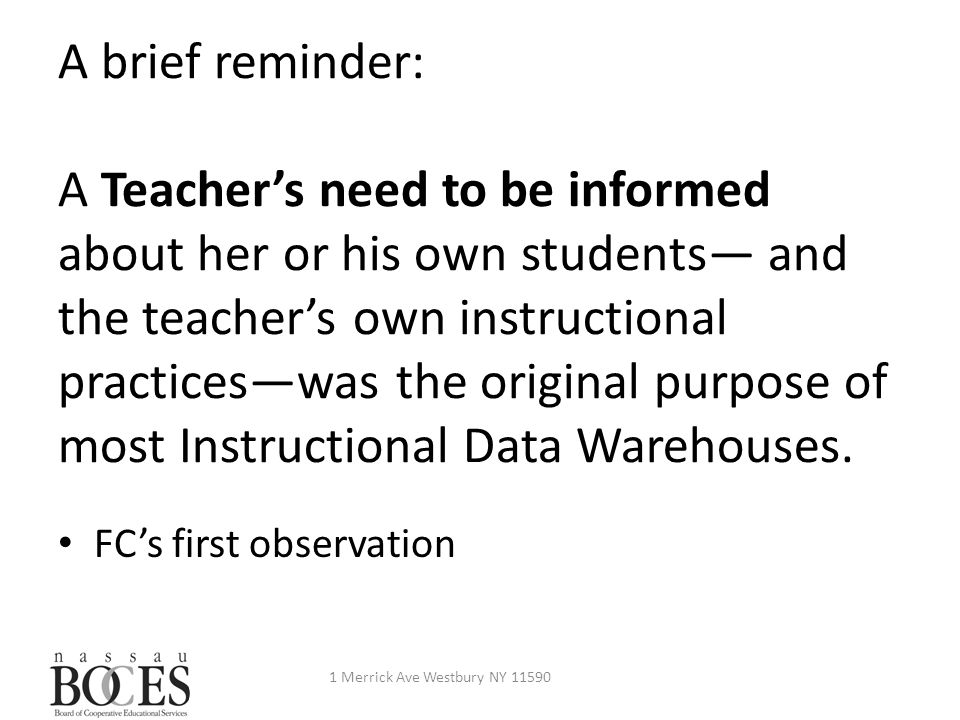 What must every teacher know about her or his students.