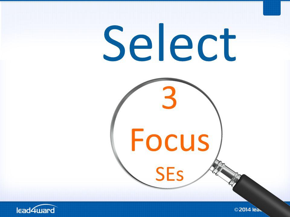 Select 3 Focus SEs