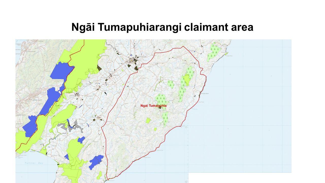 Ngāi Tumapuhiarangi claimant area