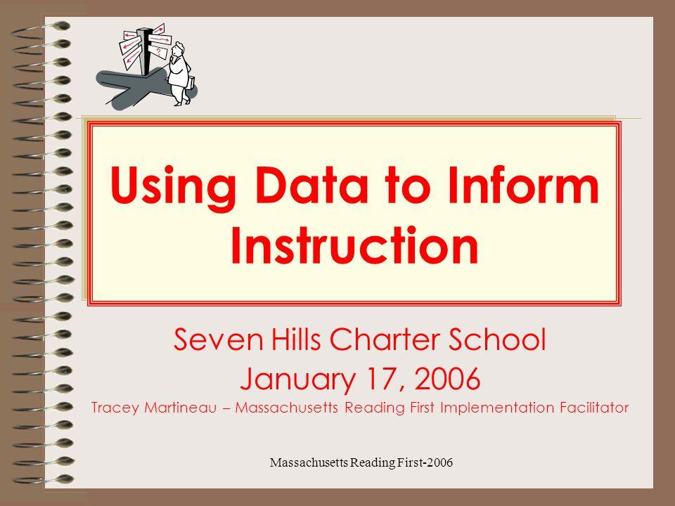 Massachusetts Reading First-2006 Strategies May need phonemic awareness instruction on segmenting and blending.