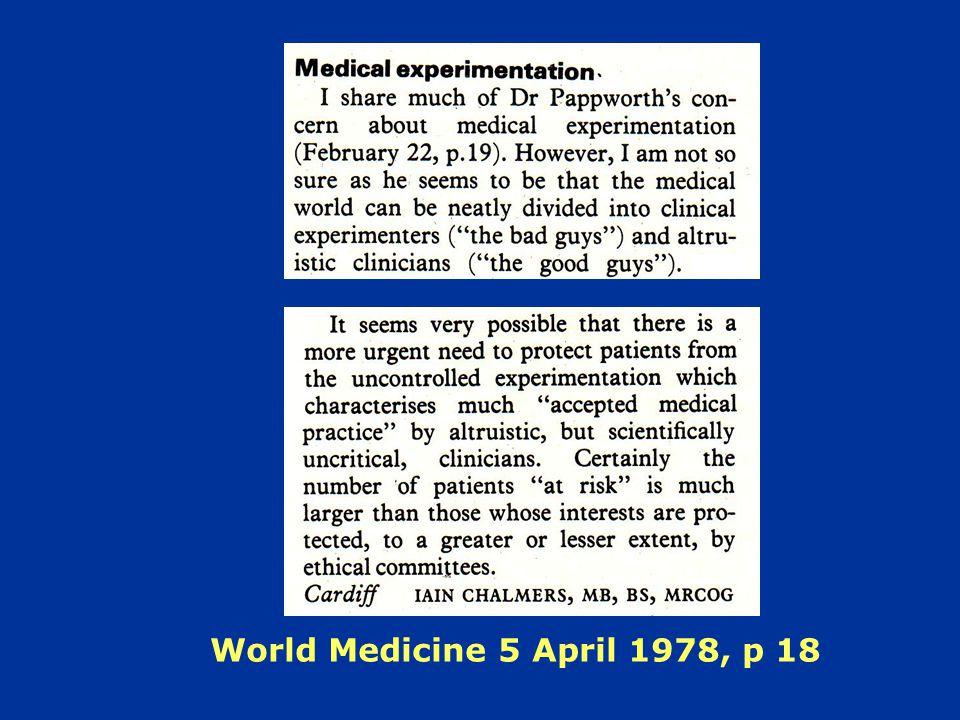 World Medicine 5 April 1978, p 18