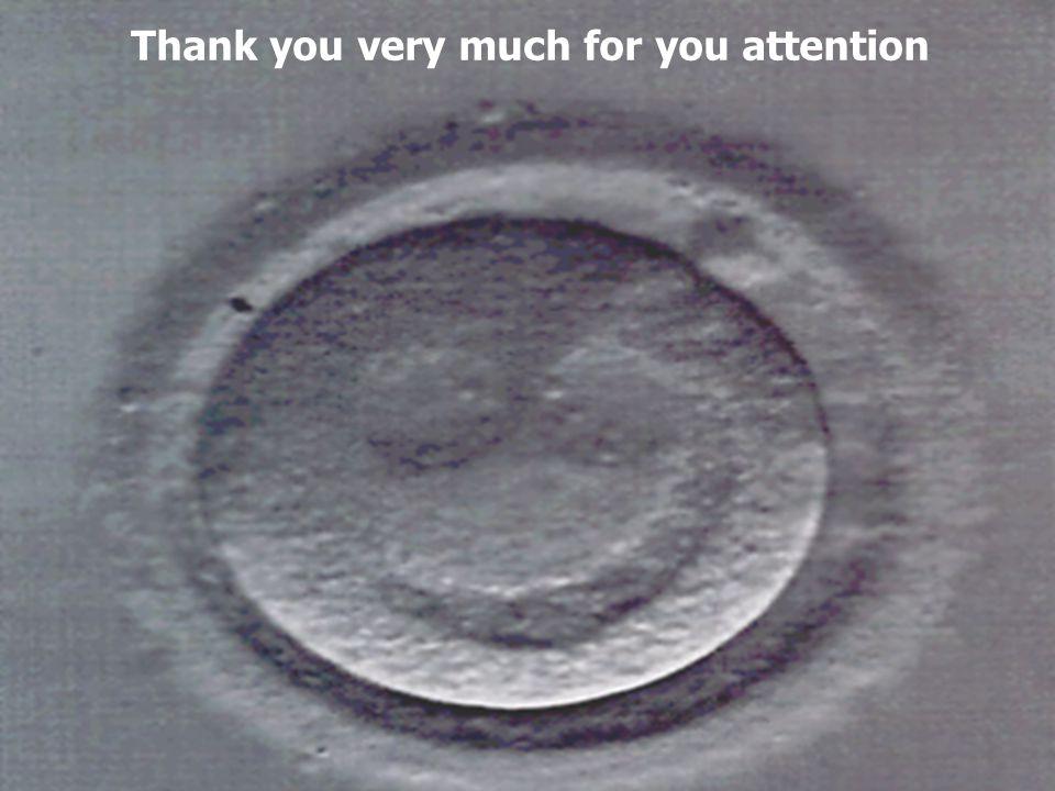 IOGENESI Centro di Medicina della Riproduzione B Thank you very much for you attention