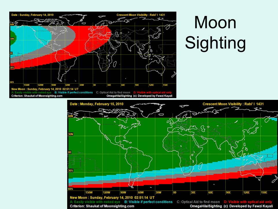 Moon Sighting