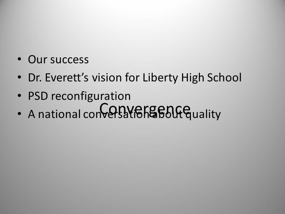 Our Success Liberty Common School, an authorized charter school in the Poudre School District A John J.