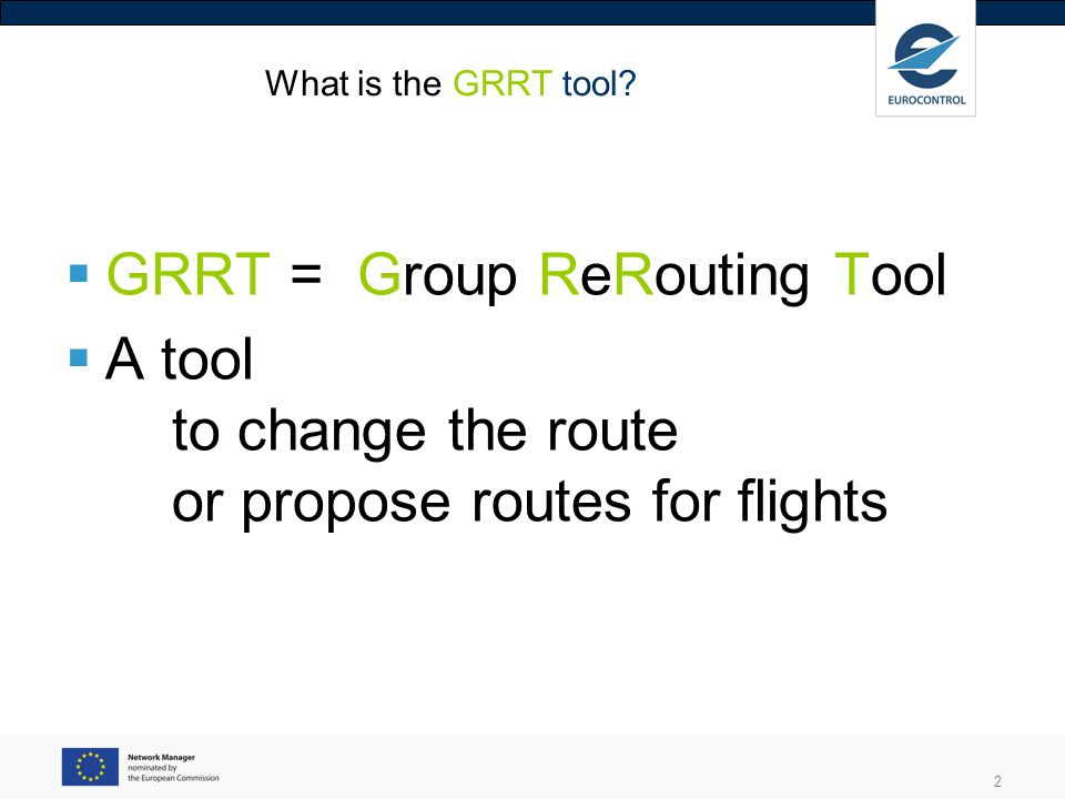 3 Group ReRouting Tool : where can we use it .