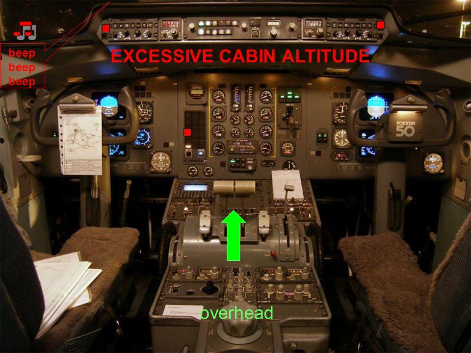 EXCESSIVE CABIN ALTITUDE Cabin Altitude Pointer