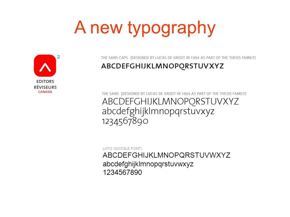 A new typography LATO (GOOGLE FONT) ABCDEFGHIJKLMNOPQRSTUVWXYZ abcdefghijklmnopqrstuvwxyz 1234567890