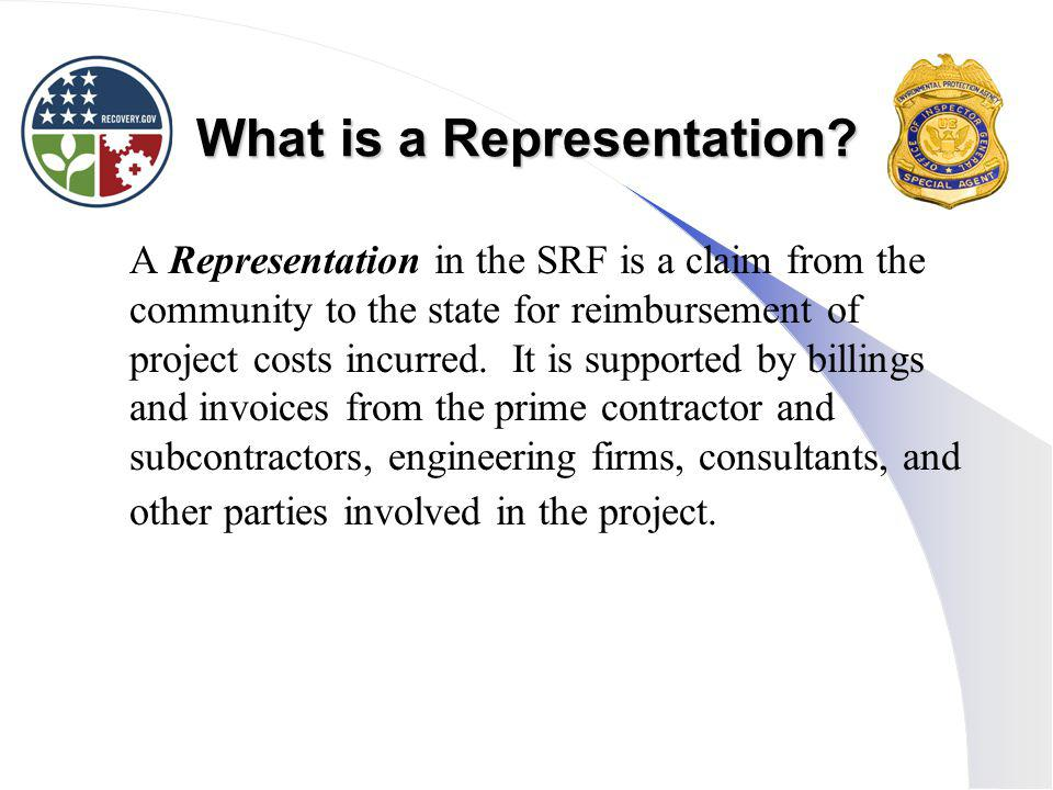 What is a Representation.