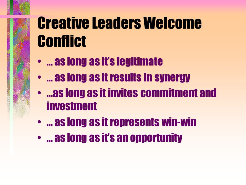 Dealing with Difficult Colleagues How to welcome and love conflict