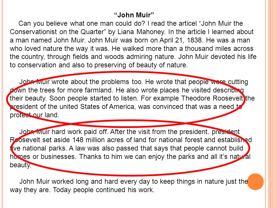 John Muir Can you believe what one man could do.
