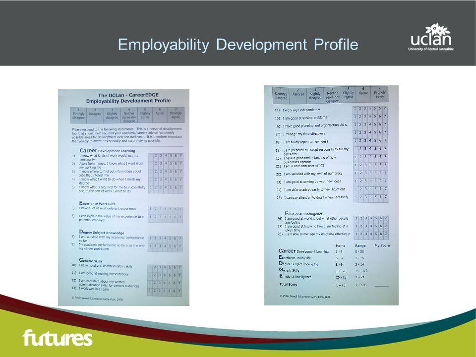 Employability Development Profile