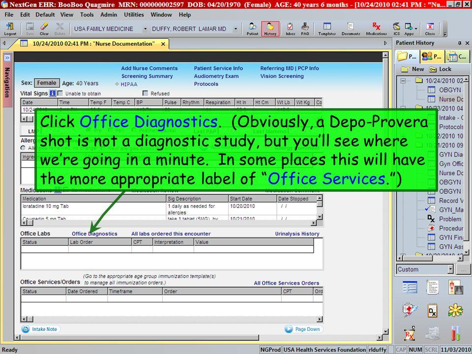 Click Office Diagnostics.