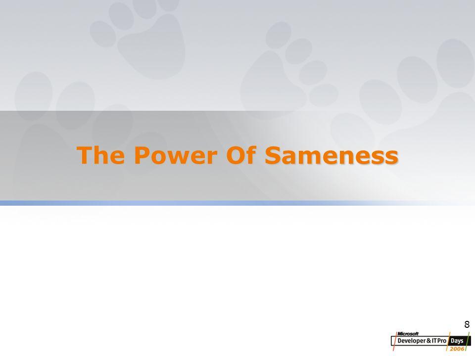 8 The Power Of Sameness