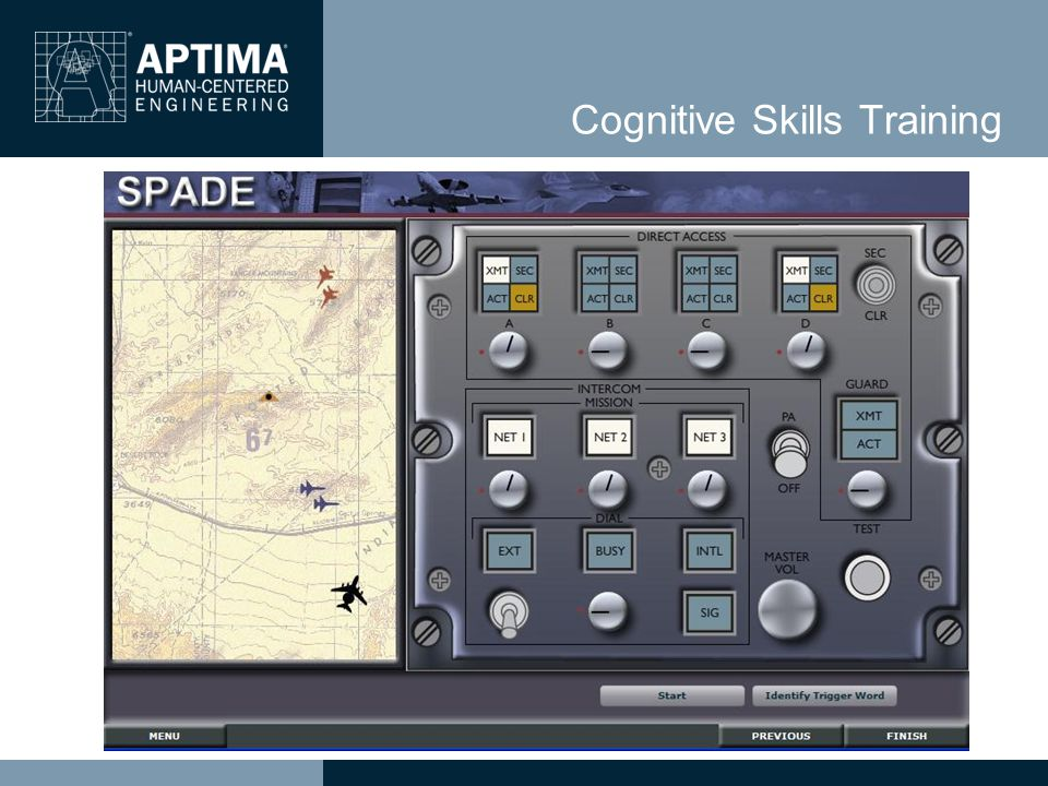 Cognitive Skills Training