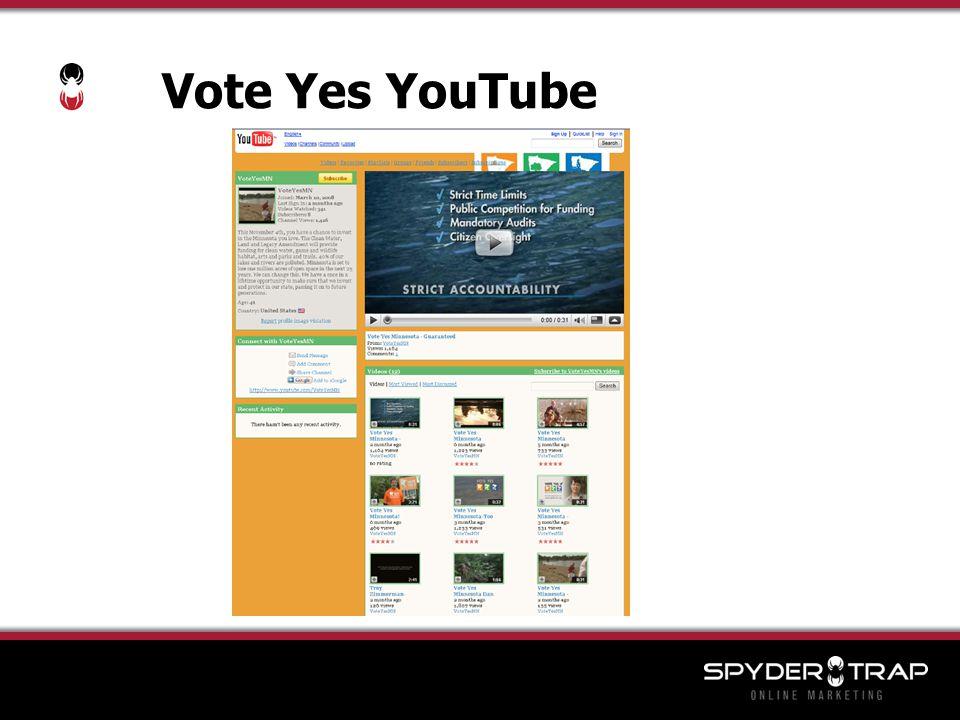 Vote Yes YouTube