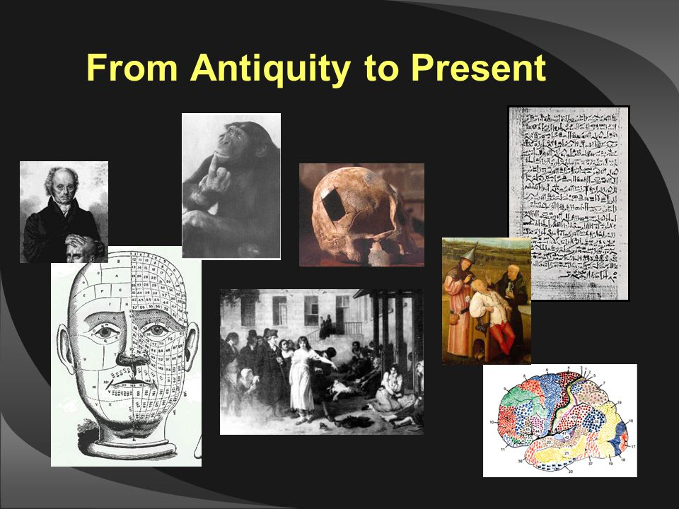 From Antiquity to Present