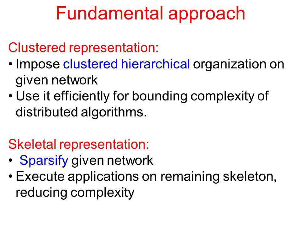 Spanning trees - basic types MST: minimum-weight spanning tree of G = spanning tree T M minimizing w (T M ) SPT: shortest paths tree of G w.r.t.