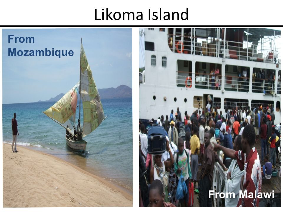 Likoma Island From Mozambique From Malawi