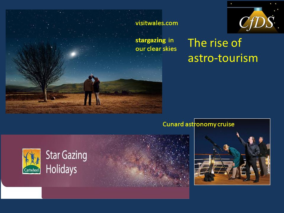 visitwales.com stargazing in our clear skies Cunard astronomy cruise The rise of astro-tourism