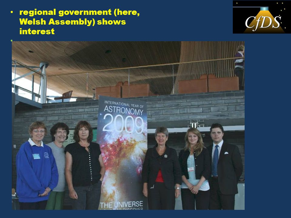 local government – patchy
