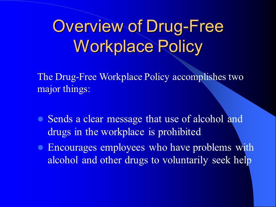 Supervisor Training REASONABLE CAUSE TESTING Alcohol- and Drug-Free Workplace