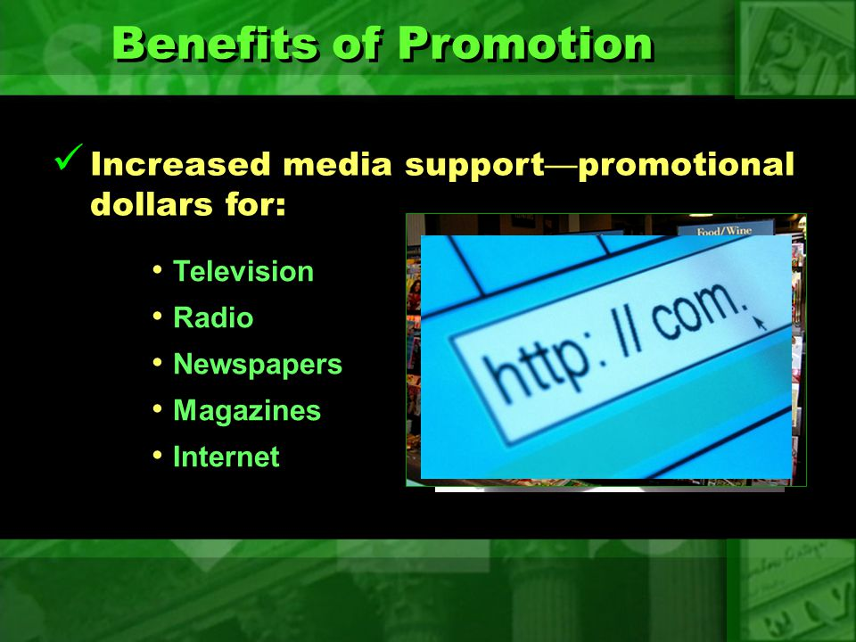 Benefits of Promotion Jobs in promotion Jobs in promotion Jobs in production Jobs in production Jobs in promotion Jobs in promotion Jobs in production