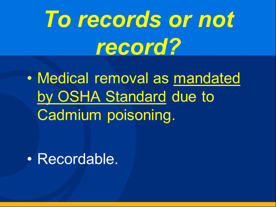 To records or not record? Additional cleaning and application of antiseptic because the bandage became soiled. Not Recordable.