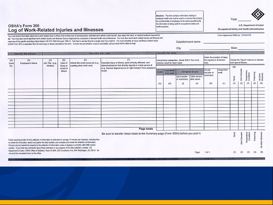 Electronic Version of The Recordkeeping Forms