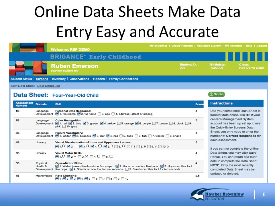 8 Online Data Sheets Make Data Entry Easy and Accurate