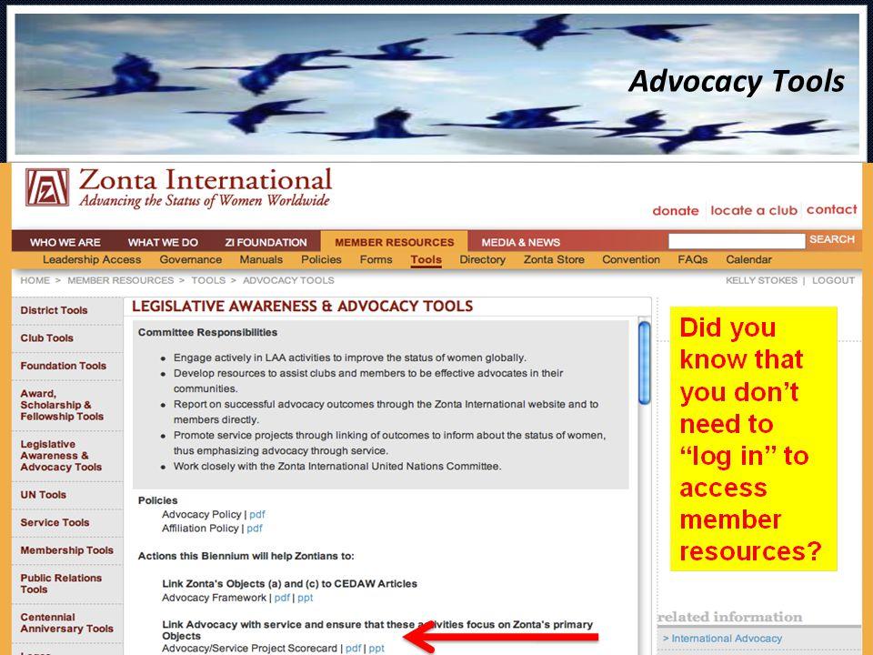 Advocacy Tools