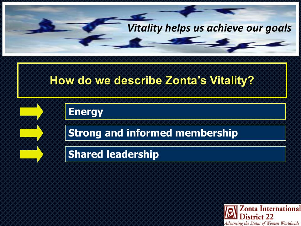 Shared Zonta Leadership Organizations that attract and keep the highest caliber leaders are those that demonstrate Shared Leadership Implies shared responsibility for problem identification, solutions and action taking Offers a way of increasing commitment and encouraging other members to step forward for future leadership roles