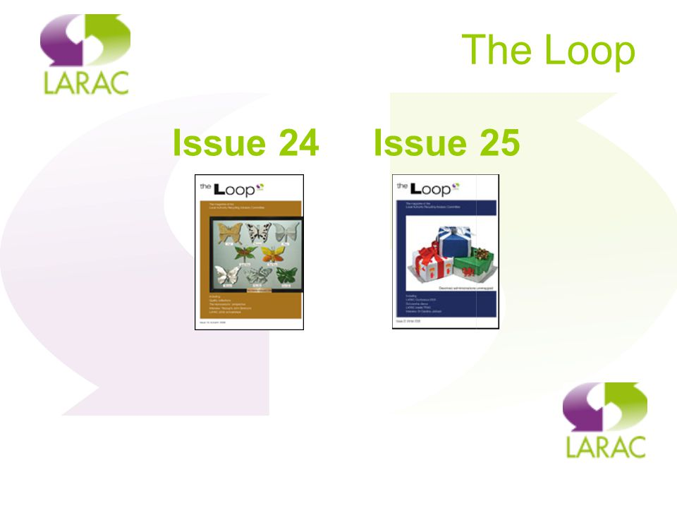 The Loop Issue 24 Issue 25