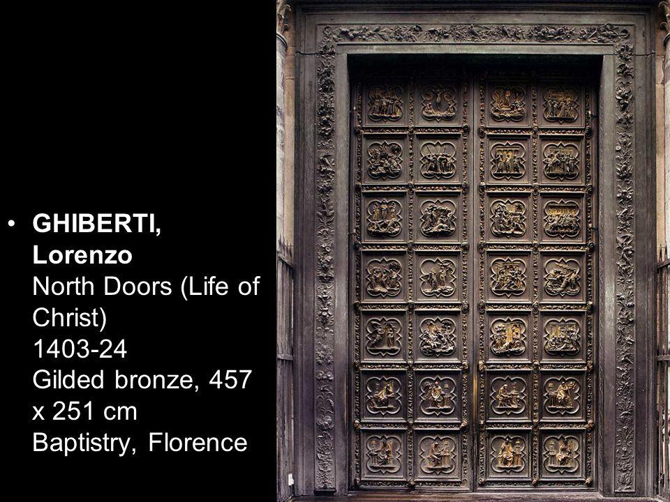 GHIBERTI, Lorenzo Sacrifice of Isaac 1401 Bronze relief Museo Nazionale del Bargello, Florence