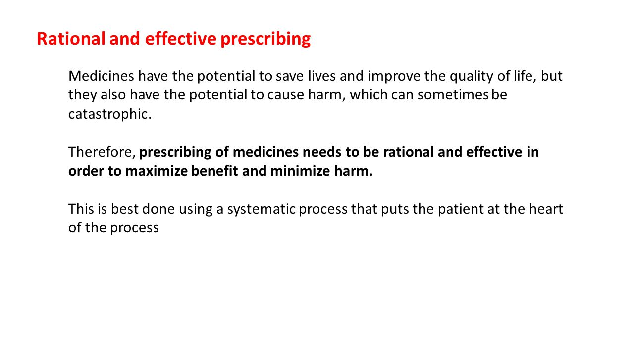 If a prescriber is an employee then the employer expects the prescriber to work within the terms of his/her contract, competency and within the rules/policies, standard operating procedure and guidelines, etc.