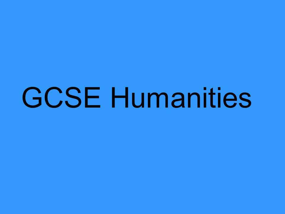GCSE Humanities