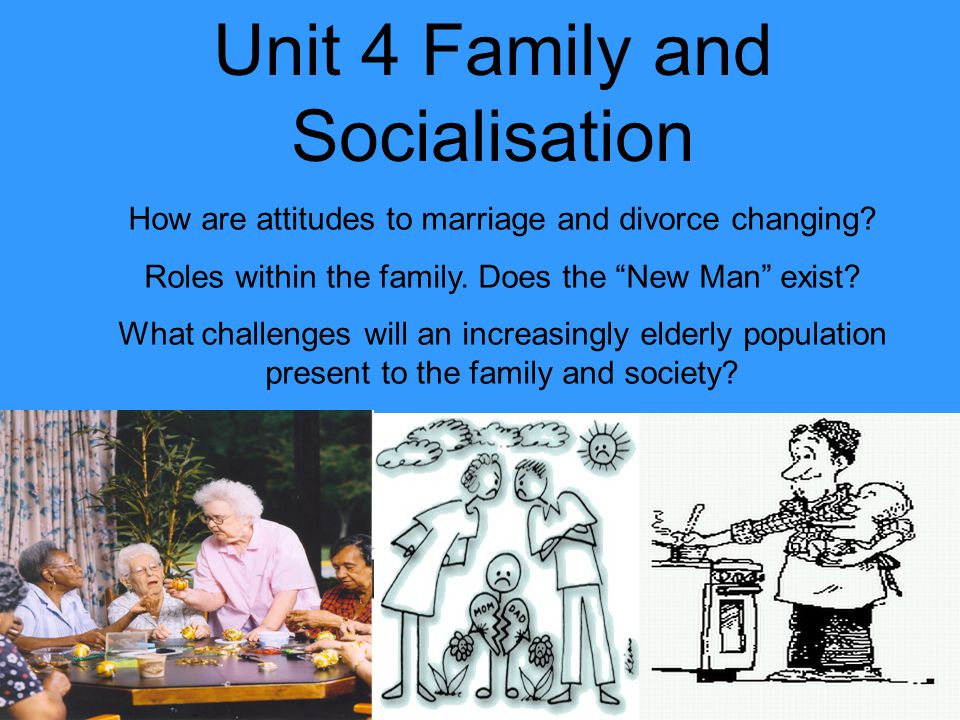 Unit 4 Family and Socialisation How are attitudes to marriage and divorce changing.