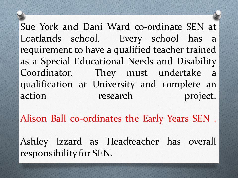Sue York and Dani Ward co-ordinate SEN at Loatlands school.