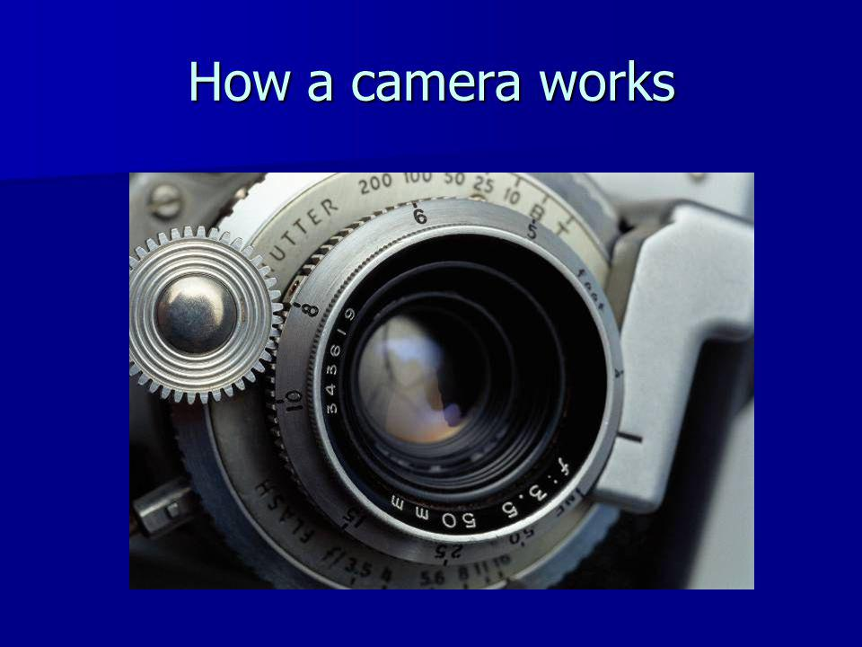 How a camera works