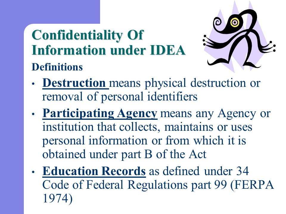 Fees Each participating agency may charge a fee for copies of records that are made for parents under this part if the fee does not effectively prevent the parents from exercising their right to inspect and review those records.
