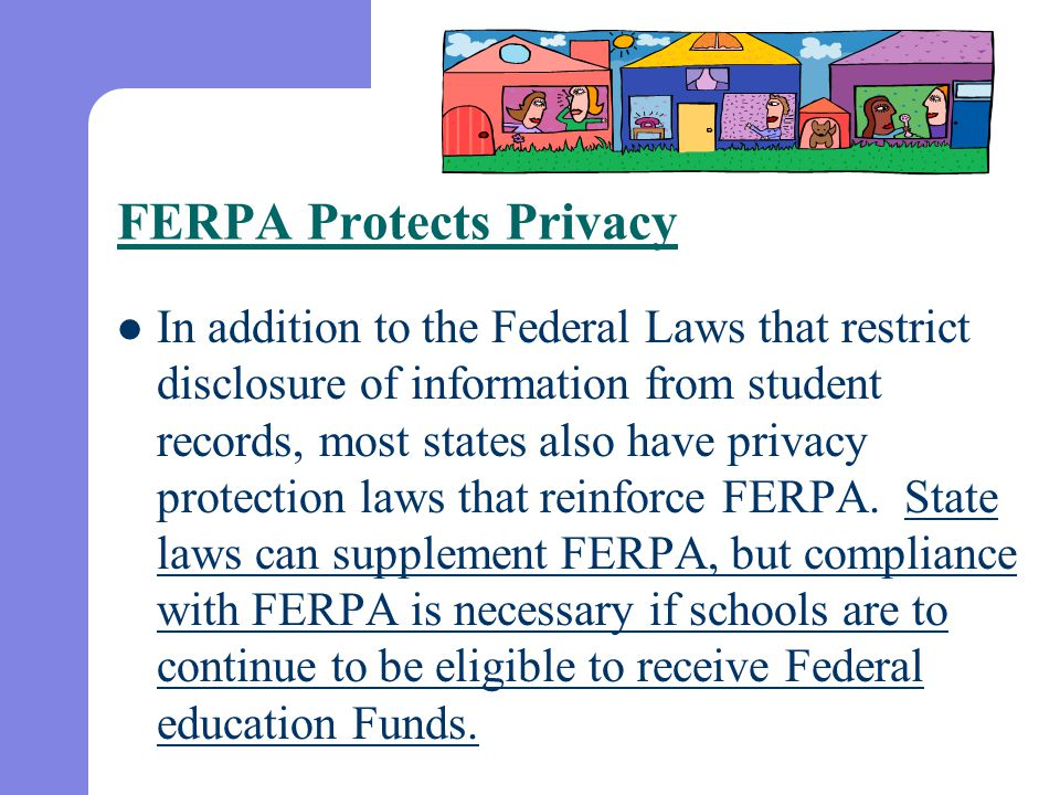 What information must the state educational agency (and school district) provide to parents about education records?