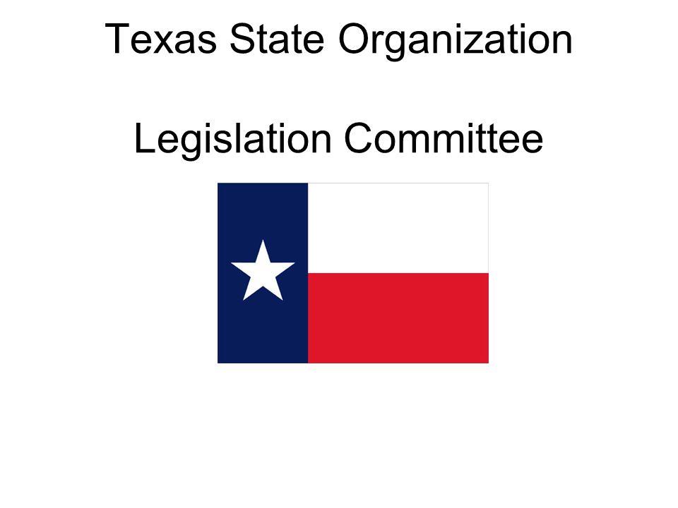 Texas State Organization Legislation Committee