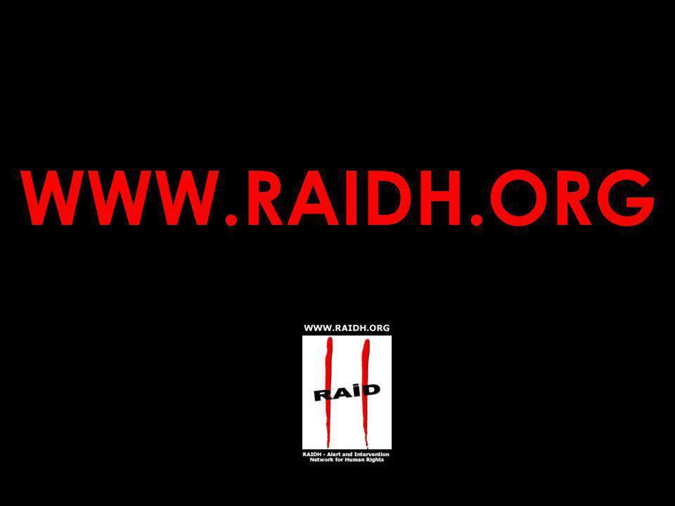 More information on the 2 nd World Congress against the Death Penalty: WWW.MONTREAL2004.ORG CONTACT for the Demonstration march : raidh@raidh.org Contact RAIDH, the radical Human Rights organization raidh@raidh.org 