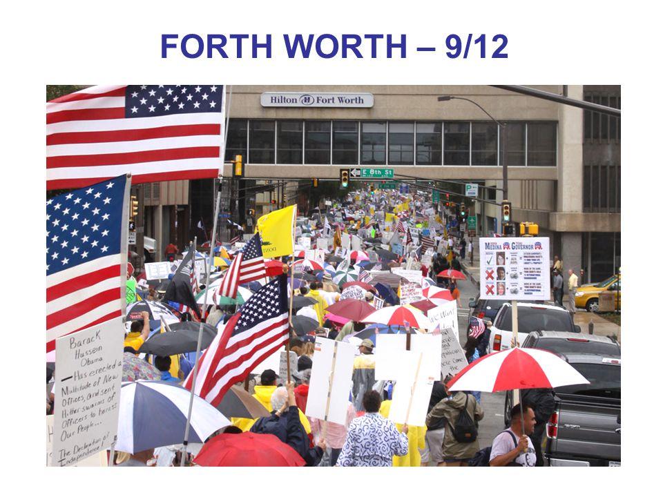 FORTH WORTH – 9/12