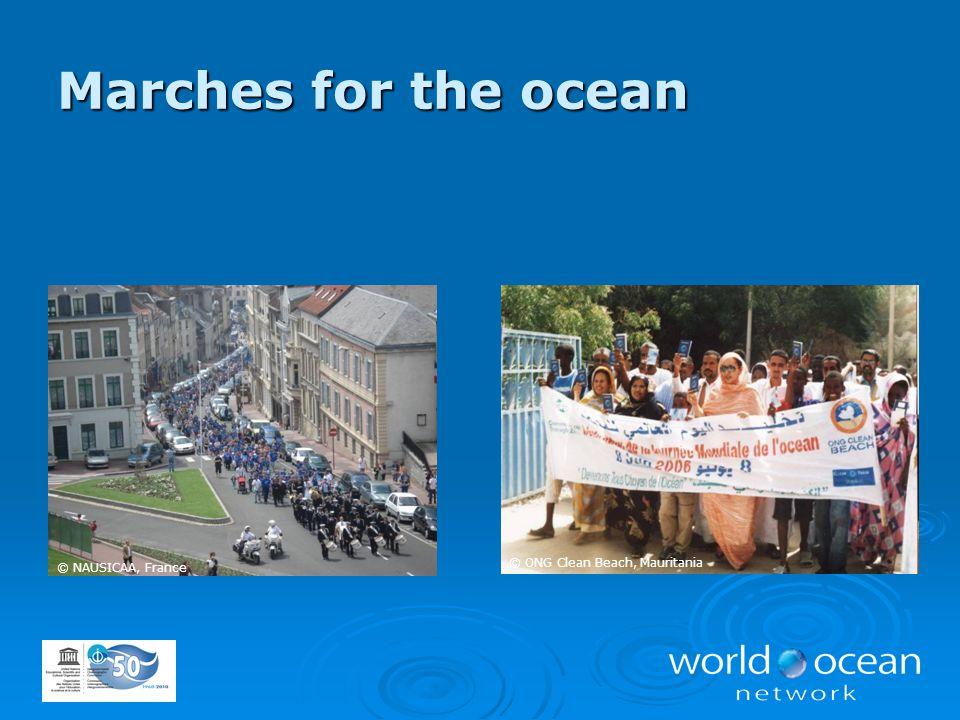 © ONG Clean Beach, Mauritania © NAUSICAA, France Marches for the ocean