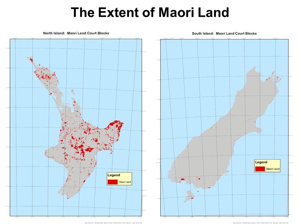 The Extent of Maori Land
