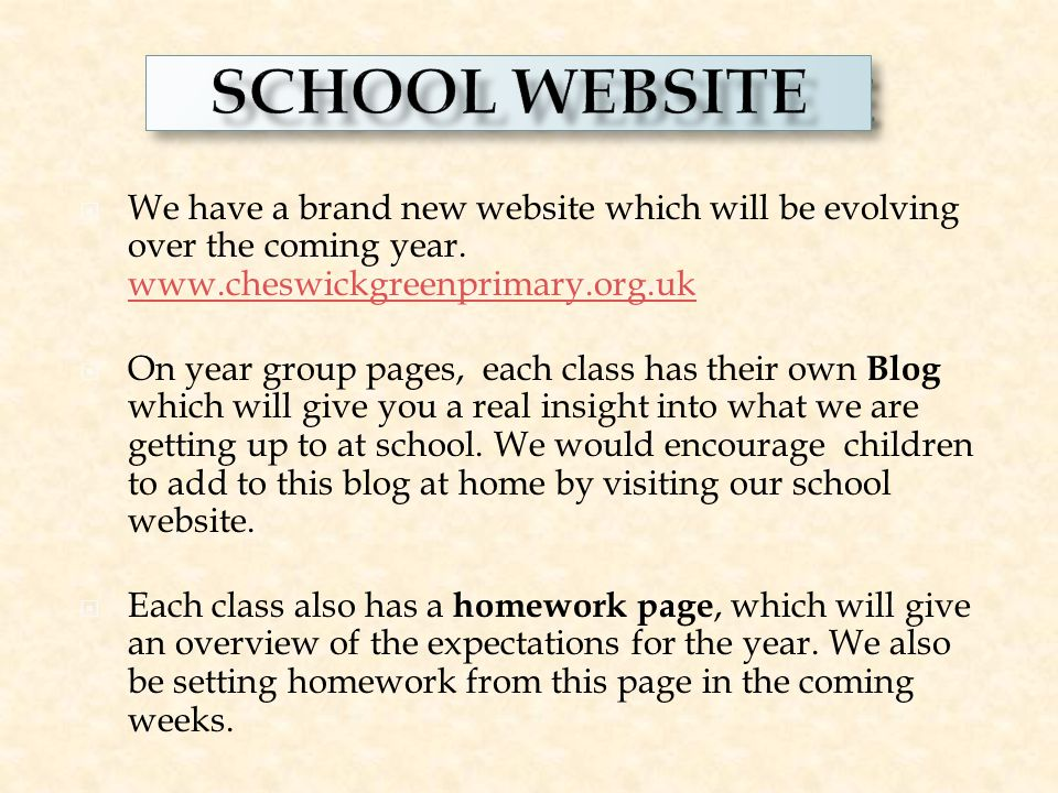  We have a brand new website which will be evolving over the coming year.