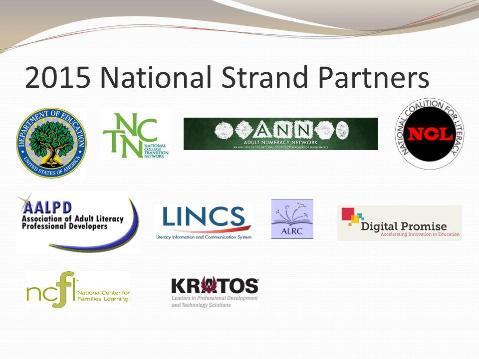 2015 National Strand Partners