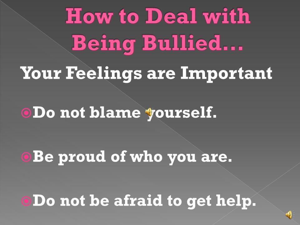 Only boys bully.